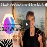 3 Beachy Wave Wigs Compared:  Sweet Talk, January, & Brave the Wave