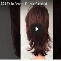 Bailey by Rene of Paris in Chestnut