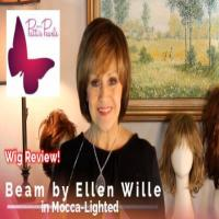 Wig Review:  Beam by Ellen Wille in Mocca-Lighted