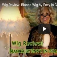 Wig Review:  Bianca Wig by Envy in Golden Nutmeg