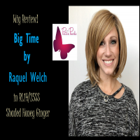 Wig Review:  Big Time by Raquel Welch in RL14/25SS Shaded Honey Ginger