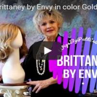 Wig Review:  Brittaney by Envy in color Golden Walnut