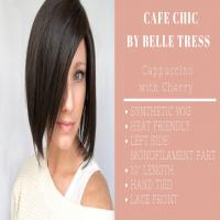 Wig Review:  Cafe Chic by Belle Tress in Cappuccino with Cherry