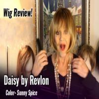 Wig review:  Daisy by Revlon in Sunny Spice.