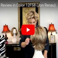 Diane Wig Review in Color 12FS8  (Jon Renau)