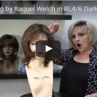 Embrace Wig by Raquel Welch in RL4/6 Dark chocolate Wig Review