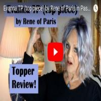 Evanna TP (top piece) by Rene of Paris in Pastel Blue-R