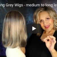 Comparing Grey Wigs - medium to long length