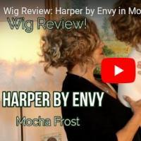 Wig Review:  Harper by Envy in Mocha Frost