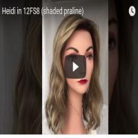 Heidi by Jon Renau in 12FS8 (shaded praline)