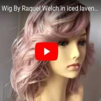If You Dare Wig By Raquel Welch in iced lavender