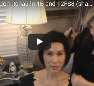 Ignite Wig by Jon Renau in 1B and 12FS8 (shaded praline)