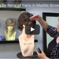 Jamie Wig by Rene of Paris in Marble Brown