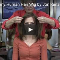 Jennifer Remy Human Hair Wig by Jon Renau in 8/30