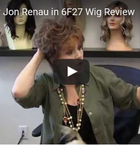 Judi Wig by Jon Renau in 6F27 Wig Review