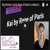 Wig Review:  Kai by Rene of Paris in melted marshmallow