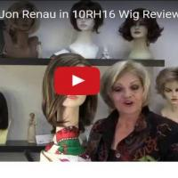 Karlie Wig by Jon Renau in 10RH16 Wig Review