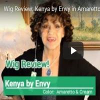 Wig Review:  Kenya by Envy in Amaretto & Cream