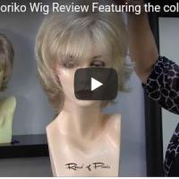 Lexy by Noriko Wig Review Featuring the color Creamy Blond