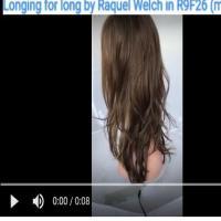 Longing for long  by Raquel Welch in R9F26 (mocha foil)