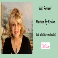 Wig Review:  Mariam by Revlon in Creme Brulee