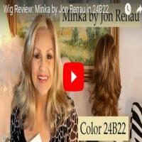 Wig Review:  Minka by Jon Renau in 24B22
