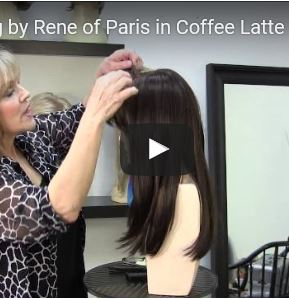 Misha Wig by Rene of Paris in Coffee Latte