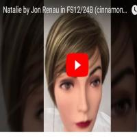 Natalie by Jon Renau in FS12/24B (cinnamon syrup)