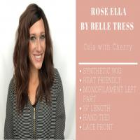 Wig Review:   Rose Ella by Belle Tress in Cola with Cherry