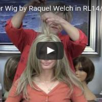 Scene Stealer Wig by Raquel Welch in RL14/22 (Pale Gold Wheat)