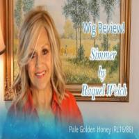 Wig Review:  Simmer by Raquel Welch in RL16/88 ( Pale Golden Wheat )