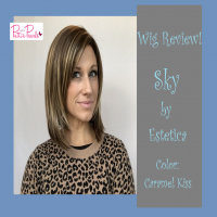 Wig Review:  Sky by Estetica in Caramel Kiss