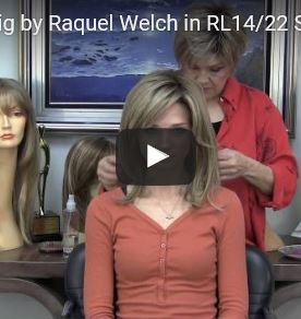 Spotlight Wig by Raquel Welch in RL14/22 Shaded Wheat