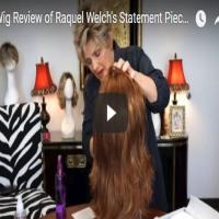 Wig Review of Raquel Welch's Statement Piece in Glazed Cinnamon (R3025S/R3025S+)