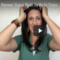 Wig Review:  Sugar Rush by Belle Tress in Cappuccino with Cherry