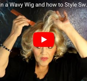 How to Thin a Wavy Wig and how to Style Sweet Talk by Gabor in GL14/22SS
