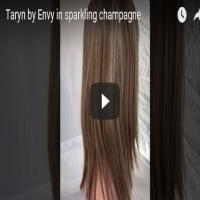 Taryn by Envy in Sparkling Champagne