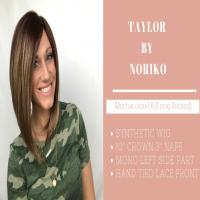Wig Review:  Taylor by Noriko in Mochaccino-LR