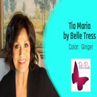Wig Review:  Tia Maria by Belle Tress in color:  ginger