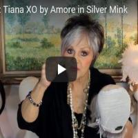 Tiana XO by Amore in Silver Mink