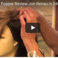 Top Level Topper Review Jon Renau in 24BT18S8 Shaded Mocha