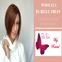 Wig Review:   Woolala by Belle Tress in Cayenne with Ginger Root