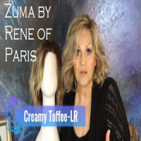 Wig Review:  Zuma by Rene of Paris in Creamy Toffee-LR